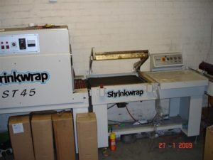 Shrink Wrapping Tunnel Machine